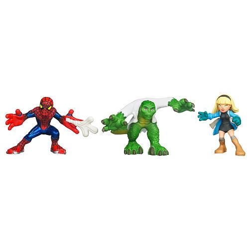 Escape from Lizard/'s Lair Marvel Super Hero Squad GWEN STACY from Spider-Man
