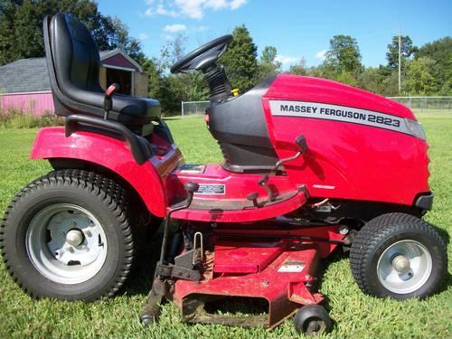 Massey Ferguson Yard Tractors : Massey ferguson garden tractor for sale in