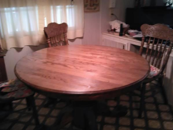 oak claw foot table chairs Classifieds - Buy & Sell oak claw foot ...