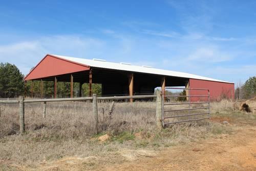 Massive Steel Barn on 5 Acres - Owner Financing for Sale ...