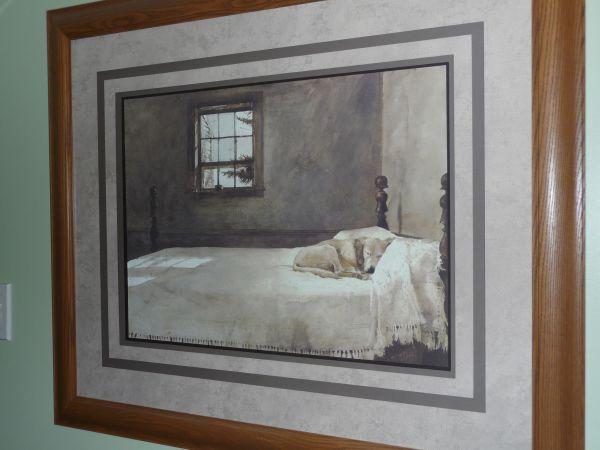 Master Bedroom Andrew Wyeth Gallery Quality Framed Art Print ...