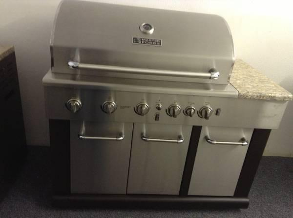 master forge 6 burner modular gas grill for sale in