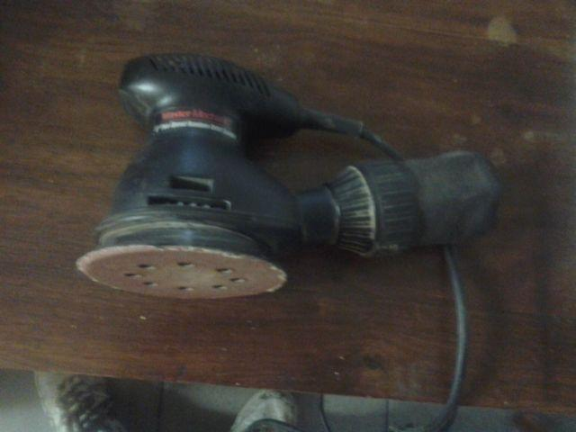 Master Mechanic 5inch/2speed Random Orbital Sander