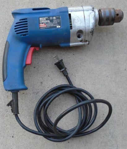 Master Mechanic 6 Amp 1 2 Variable Speed Electric Drill