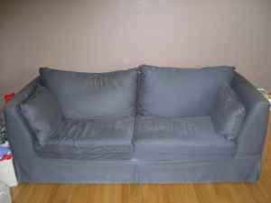 Matching Couch and Oversized Chair - $175 (Janesville,