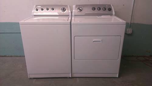 Matching Whirlpool Washer And Dryer Set For Sale In Tampa