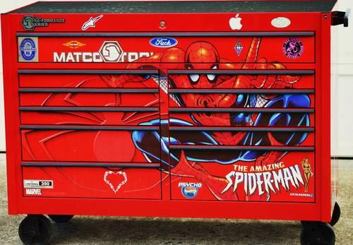 Matco Tools Spider Man Tool Box Special Edition