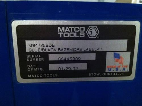 Matco Tool Box Touch Up Paint