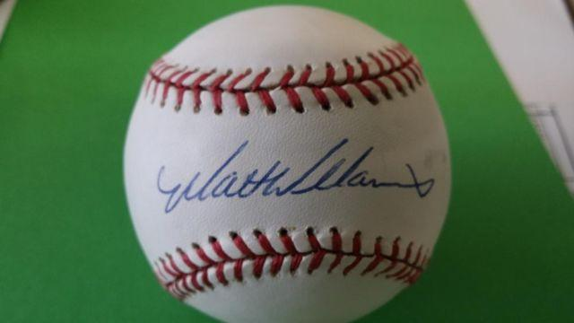Matt Williams Baseball Autograph Teams Giants Indians Dia Back For Sale In Tampa