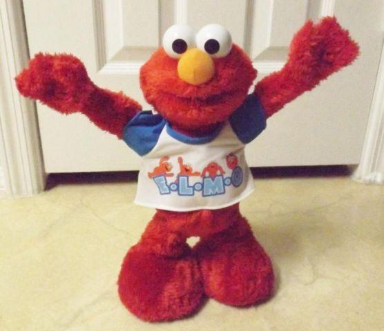 Mattel Sesame Street's Dancing E-L-M-O (YMCA) Doll For