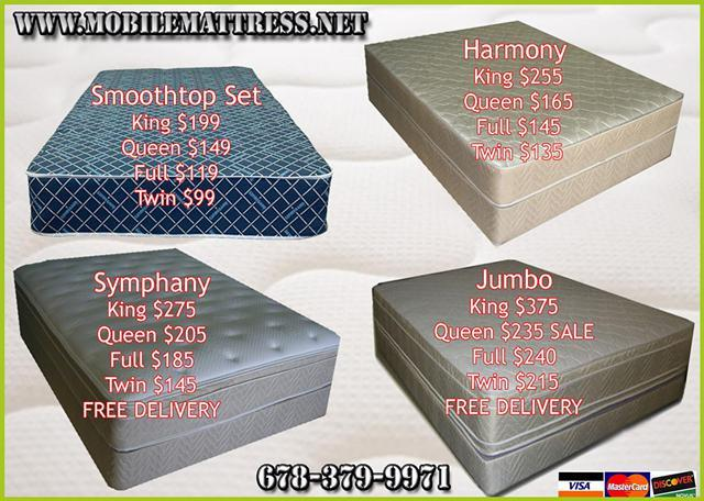 Mattress Set King Queen Full Twin For Sale In Atlanta