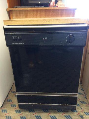 Maytag Black Portable Dishwasher Used For Sale In Tacoma
