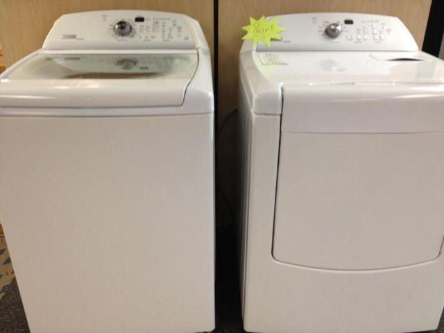Maytag Bravos Clear Top Load Washer Amp Dryer Set Pair