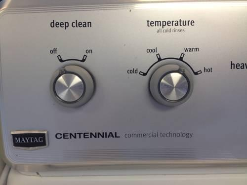 Maytag Centennial Commercial Technology Washer Used For