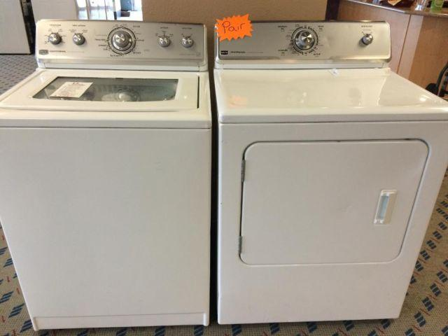 maytag centennial dryer maytag centennial washer amp dryer set pair used for 31048