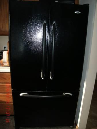 Maytag French Door Refrigerator With Freezer Door On