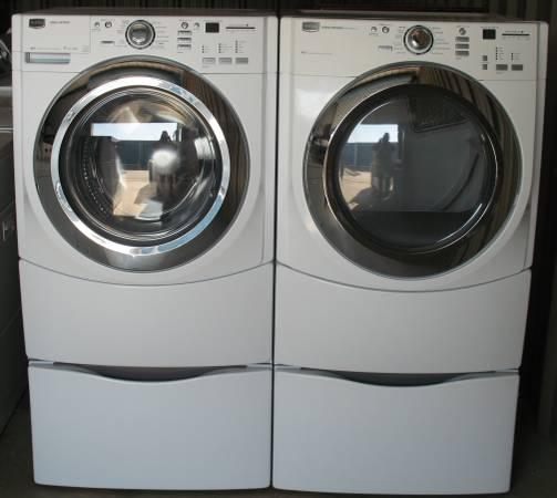 Maytag Front Load Washer And Electric Dryer For