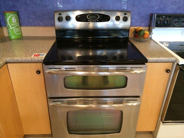 Maytag gemini stainless double oven range stove used for sale in tacoma washington classified - Maytag electric double oven range ...