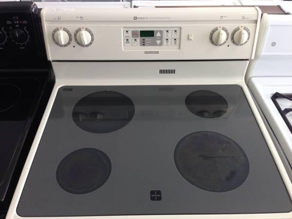 Glass Top Electric Stove ~ Maytag glass top electric range stove advanced cooking