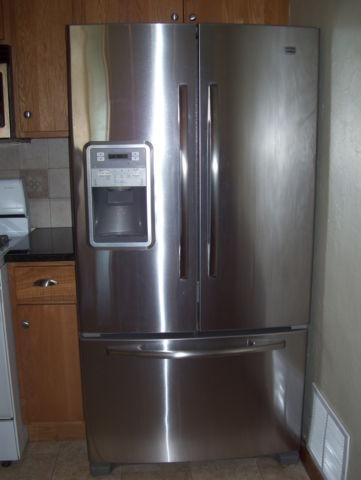Maytag Stainless Steel Refrigerator French Door 25cf For Sale In