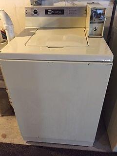 maytag coin operated washer