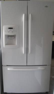 Maytag White French Door Fridge