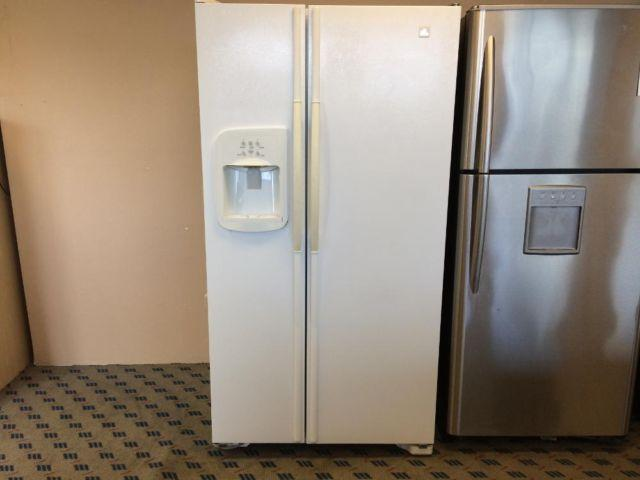 Maytag White Side By Side Refrigerator Freezer Used For