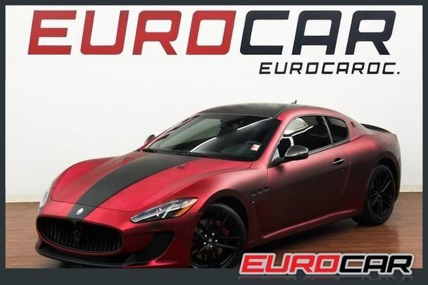 Mc Coupe One Owner Ca Car Custom Wrap Carbon Fiber Pack Mc Sport