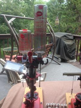 Mec Grabber, 20 gauge progressive reloader (also have a