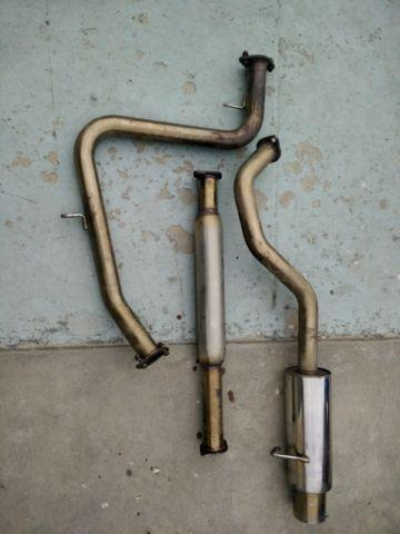 Megan Stainless Steel CatBack Exhaust Muffler System