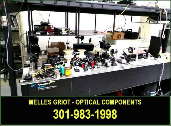 * * * * * * MELLES GRIOT - - OPTICAL BENCH COMPONENTS *