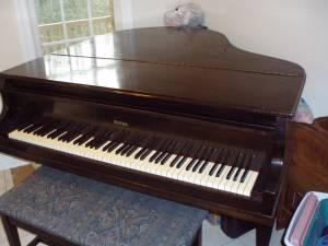 Melville Clark Baby Grand Piano King George For Sale