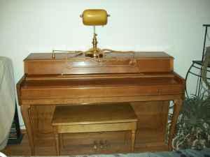 Melville Clark Upright Piano Belgrade Mt For Sale In
