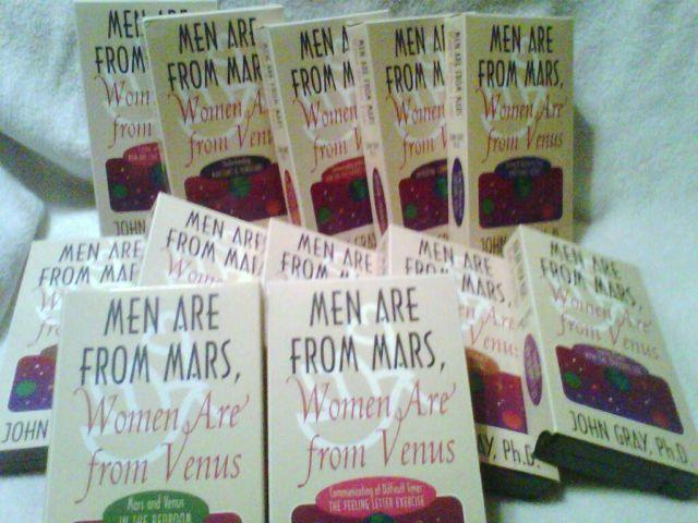 MEN ARE FROM MARS WOMEN ARE FROM VENUS - MARRIAGE HELP
