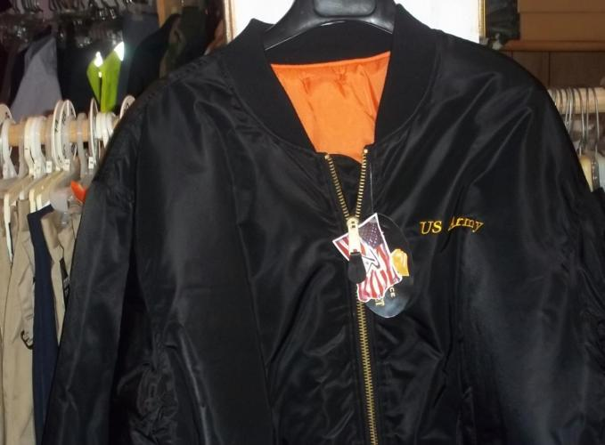 19293effe Men s Black Army Military Jacket by Rotcho for Sale in Amite ...