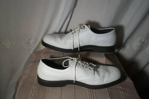 Mens ECCO Wing Tip Golf Shoes, Size 9-12