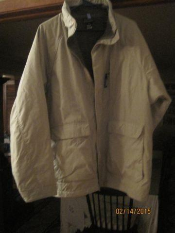 Men's Patagonia Tan Winter Barn Jacket size L, 3 pocket