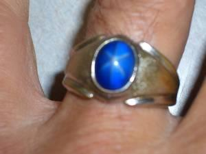 Men 39 s star sapphire ring rotonda west for sale in for Diamond and jewelry exchange orlando