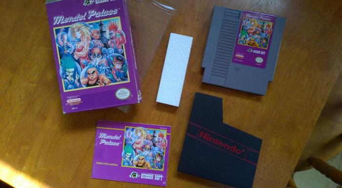 Mendel Palace for the NES