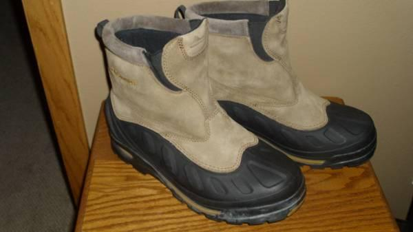 mens Columbia winter boots size 10 - $20