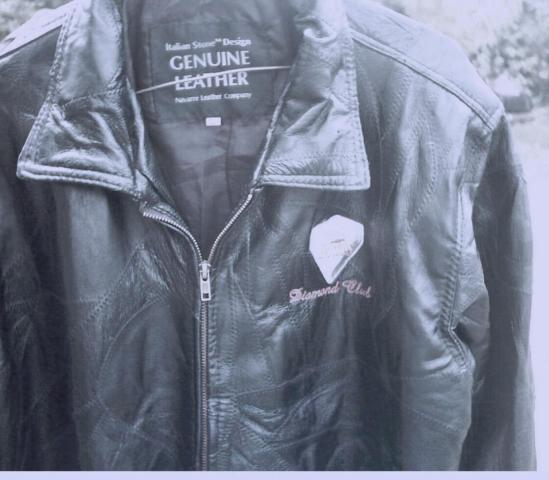 mens Genuine Leather Jacket size M