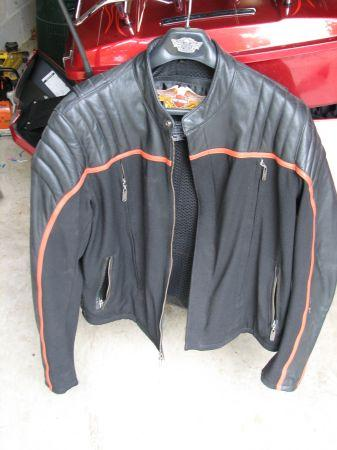 Mens Harley Davidson Leather Riding Jacket - $150 Hanover, MD