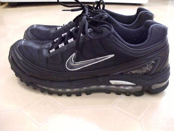 black nike air max size 12