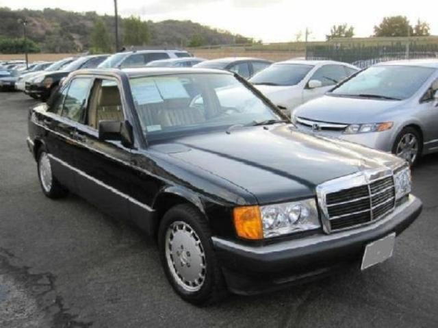 Mercedes 190e 2 6 1990 For Sale In Herndon Virginia