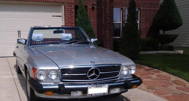 mercedes 560sl collectible convertible roadster perfect working for sale in san antonio. Black Bedroom Furniture Sets. Home Design Ideas