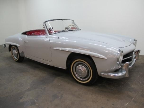 Mercedes benz 190sl roadster for sale in los angeles for Mercedes benz for sale los angeles