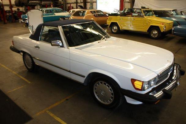 Mercedes benz 560 560sl for sale in sarasota florida for Mercedes benz sarasota