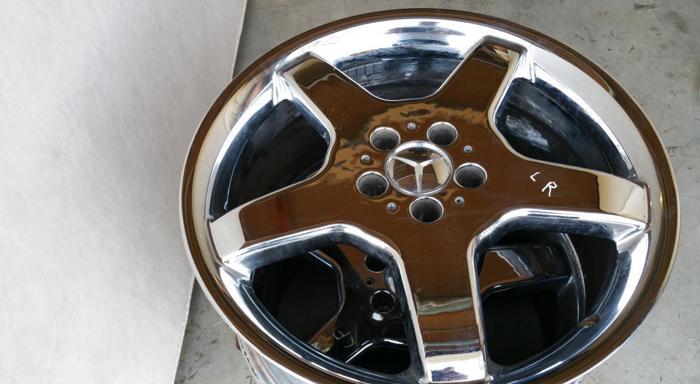 Mercedes Benz Chrome Wheels Rims 5x112 Ml E320 E350 E500 S500 S430