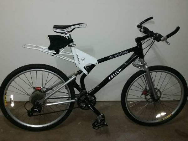 mercedes benz police sheriff patrol bike for sale