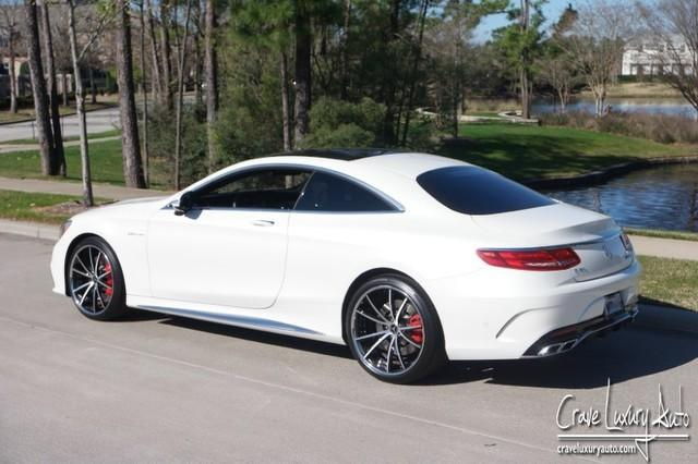 Mercedes benz s63amg coupe v8 crave luxury auto leather for Mercedes benz spring tx